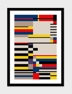 ASYMMETRY Numbered Edition Fine Art Print By THE USUAL DESIGNERS