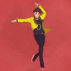 Yuri On Ice Phan au's give me life tbh