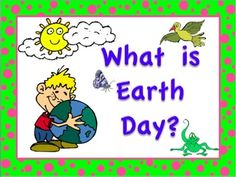 Free!   Earth Day PowerPoint, A History of Earth Day