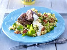 Lamm-Rezepte - Lammfleisch in Lieblingsvarianten - lammlachse-couscous
