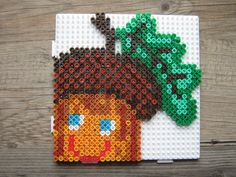 Autumn hama perler beads