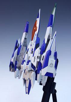 MG 1/100 00 Raiser - Customized Build Modeled by Redbrick