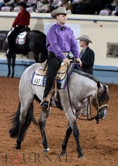"""Really like this colt...and have enjoyed seeing what the Starnes' campaign every year since I was a little girl. Nice to see SC folks winning at the big ones.  VS Flatline and AQHA Professional Horseman Jackie """"Jay"""" Starnes."""