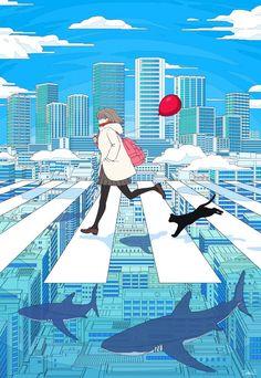 37 trendy ideas for art inspo anime Art And Illustration, Art Illustrations, Art Inspo, Kunst Inspo, Art Anime Fille, Anime Art Girl, Manga Art, Cartoon Kunst, Cartoon Art
