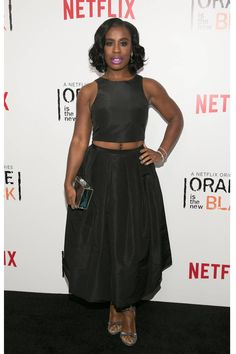 Uzo Aduba.....I love you so much I can't stand it. Your beauty. Your talent. You. are EVERYTHING!!! I'm so glad you got this chance and I wish you every success in the UNIVERSE!!!! My heart is so full. I can't.......