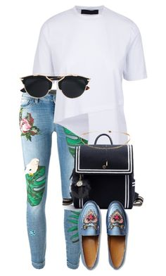 """""""Untitled #1865"""" by itsmeischoice on Polyvore featuring Dolce&Gabbana, Gucci and Christian Dior"""
