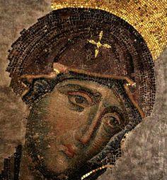 Византийская мозаика, конец Хl - начало Хlll веков.