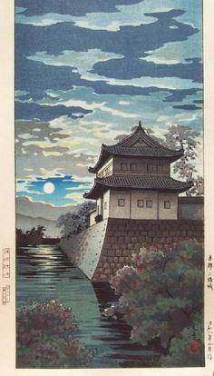 UKIYO - E.....BY TSUCHIYA KOITSU......PARTAGE OF AKAI......ON FACEBOOK......