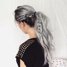 """brightindie: """" Grey hair """""""