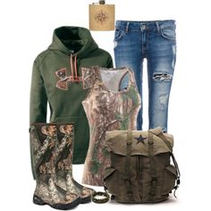 Into The Woods by darbie73 on Polyvore featuring Under Armour, Pull&Bear, King Ice and country