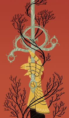 Ace of Swords http://sarakipin.tumblr.com/