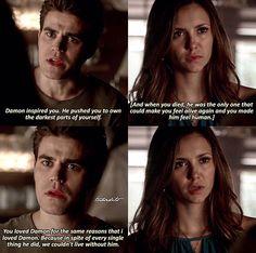 The Vampire Diaries 6x04 Stefan & Elena