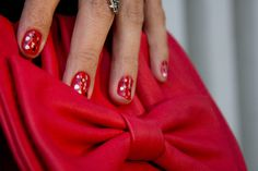 Love this manicure! By Isidora Morales