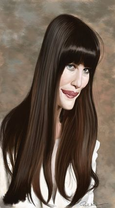 Liv Tyler #caricatures #art #Caricature #cool