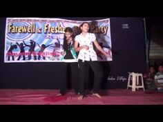 MY SCHOOL'S FAREWELL PARTY.. DANCED BY THE 6 SWEET GIRLS ON THE WONDERFU...