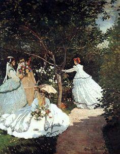 Claude Monet Claude Monet, The women in the Garden