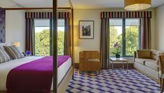 Deluxe Premium Guest-room with Views of St Stephens Green- The Fitzwilliam Hotel Dublin