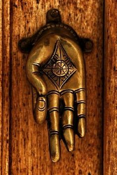 Door knocker by yolanda