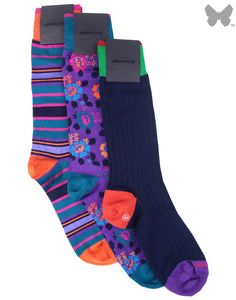 Duchamp Men's 3 pack The Country Gents Sock Set - Ocean | Country Attire