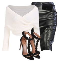 """""""Untitled #204"""" by stylesandthreads ❤ liked on Polyvore featuring Alaïa"""