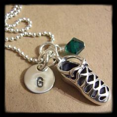 Personalized Necklace Irish Dance Shoe by MadisonCraftStudio, $39.00