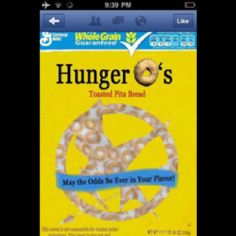 Hunger O's... And may the odds be ever in your flavor!