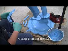 Silicone Mold Making Tutorial: 73-20 poured blanket mold - YouTube