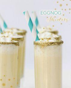 Holiday Eggnog Shooters