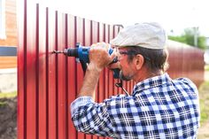 Planning to install a privacy fence to keep your property from nosy neighbors and noisy traffic? Here are privacy fence design ideas that you can consider. Newport News Virginia, Privacy Fence Designs, Types Of Fences, Lawn Service, Aluminum Fence, Horse Ranch, Cedar Fence, Fence Panels, Water Garden