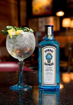 'Glory of Expedition' Bombay Sapphire Ultimate Gin & Tonic Twist - Foodepedia