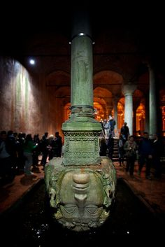 Istanbul. Medusa's Head at the Cistern   Flickr - Photo Sharing!