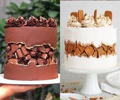 Elegant Birthday Cakes, Pretty Birthday Cakes, Cake Decorating Techniques, Cake Decorating Tutorials, Cupcakes, Cupcake Cakes, Beautiful Cakes, Amazing Cakes, Wave Cake