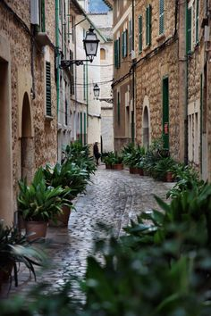Soller, a village in Mallorca, Spain
