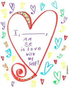 <3 Print out Sark's picture & stick it in your Radical Self Love Bible.  No further explanation needed!---http://galadarling.com/article/100-ways-you-can-start-loving-yourself-right-now