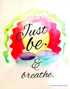 Affirmation for just breathing ;)