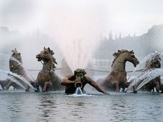 The apollo fountain of Versailles. one of my favorite fountains in the world.