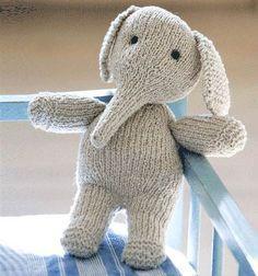 Strik en nuttet elefant.