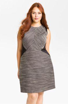 24032298648 Kenneth Cole New York  Isabella  Twisted Yarn Sheath Dress (Plus)