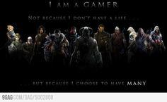 Gamer Philosophy.