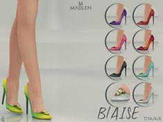 Blaise Shoes for The Sims 4