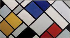 De Stijl: Mondrian, Van Doesburg y la Casa Schröder de Rietveld Piet Mondrian, Art Concret, Concrete Art, Theo Van Doesburg, La Haye, Canvas Art, Canvas Prints, Canvas Size, Art Terms