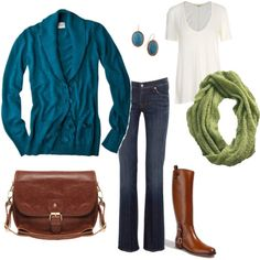 Love the turquoise and greens....