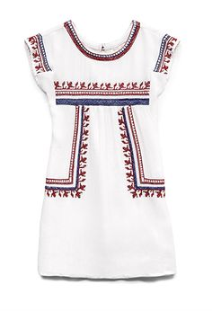 Adorable. Wish they made it for women.  Embroidered Peasant Dress (Kids) | FOREVER21 girls -