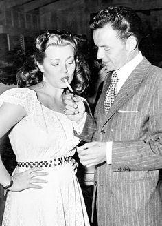 Lana Turner & Frank Sinatra