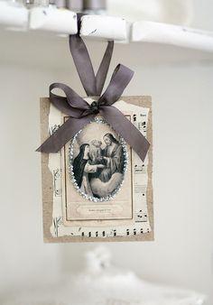 The Crown of Heaven French inspired paper by AlicesLookingGlass, $8.00