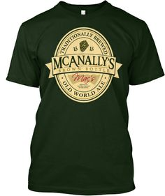 I'm sure there are Dresden Files fans out there that need a Mac's Brown Bottle Ale t-shirt.