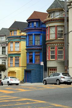 Painted Ladies in the Haight - San Francisco, Ca