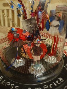 Cute patriotic display