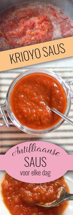 De enige echte Antilliaanse KRIOYO saus... deze saus kun je elke dag eten, bij bijna elke soort vlees, vis of vegetarisch gerecht! Maak het nu volgens ons recept