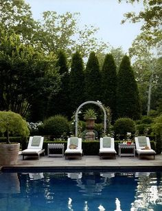 OUTDOOR ART | Mark D. Sikes: Chic People, Glamorous Places, Stylish Things